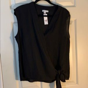 NY&Co sleeveless blouse
